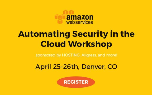 AWS Workshop Automating Security in the Cloud in Denver: Day